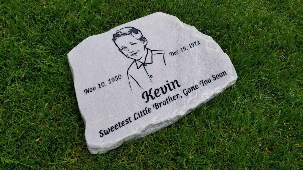 garden memorial stones