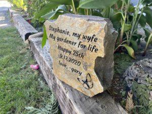 personalized stone