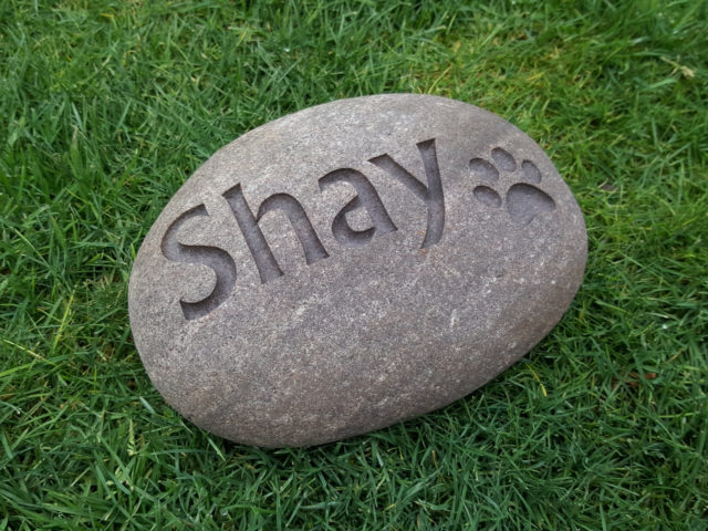 Pet Memorial Stone Engraved